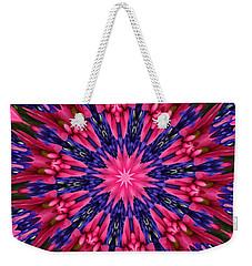 Kaleidoscope 10 Weekender Tote Bag