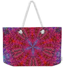 Weekender Tote Bag featuring the photograph Kaleidoscope 2 by Robyn King