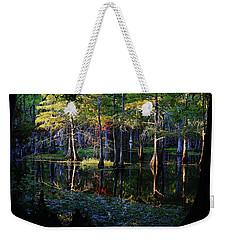 Kaleidoscope Light Weekender Tote Bag