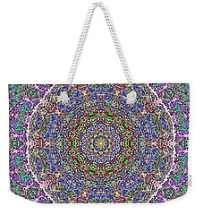 Weekender Tote Bag featuring the photograph Kaleidoscope by Robyn King