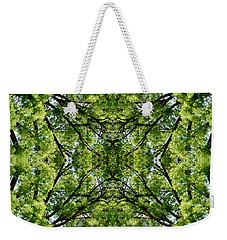 Kaleidoscope - Trees 2 Weekender Tote Bag by Andy Shomock