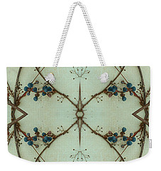 Kaleidoscope - Vines 1 Weekender Tote Bag by Andy Shomock
