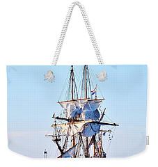 Kalmar Nyckel Tall Ship Weekender Tote Bag
