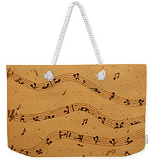 Kamasutra Music Coffee Painting Weekender Tote Bag