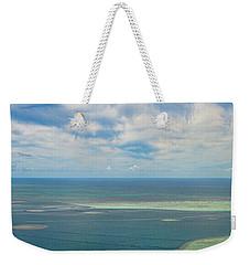 Kaneohe Sandbar Panorama Weekender Tote Bag
