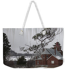 Weekender Tote Bag featuring the photograph Kansas Church by Liane Wright