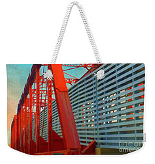 Kansas City Train Bridge - Pencoyd Railroad Bridge  Weekender Tote Bag