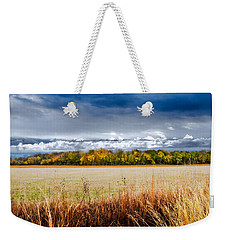 Kansas Fall Landscape Weekender Tote Bag