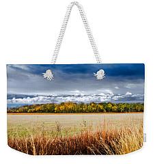 Kansas Fall Landscape Weekender Tote Bag