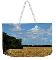 Kansas Fields Weekender Tote Bag