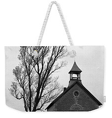 Kansas Schoolhouse Weekender Tote Bag