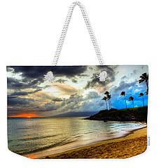 Kapalua Bay Sunset Weekender Tote Bag