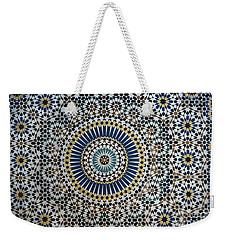 Kasbah Of Thamiel Glaoui Zellij Tilework Detail  Weekender Tote Bag