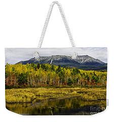 Katahdin Baxter State Park Maine Weekender Tote Bag