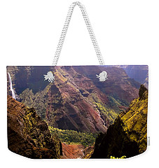 Kauai Colors Weekender Tote Bag by Katie Wing Vigil