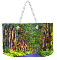 Kauai Tree Tunnel Weekender Tote Bag