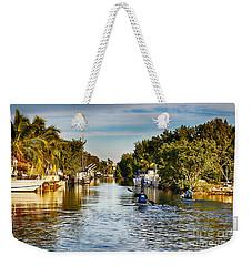 Kayaking The Canals Weekender Tote Bag