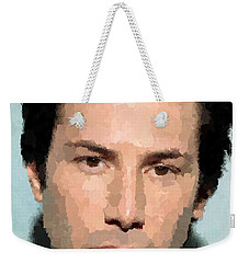 Keanu Reeves Portrait Weekender Tote Bag