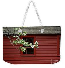 Weekender Tote Bag featuring the photograph Keeney School House by Christiane Hellner-OBrien
