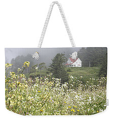 Keepers House Weekender Tote Bag by Laddie Halupa