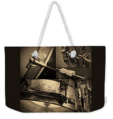 Keeping Time Weekender Tote Bag