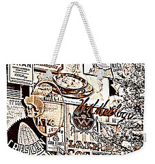 Kellogg's Wall Weekender Tote Bag by Sennie Pierson