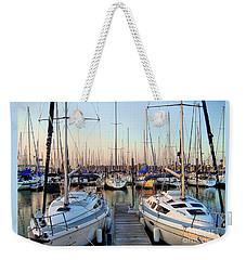 Kemah Boardwalk Marina Weekender Tote Bag