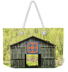 Kentucky Barn Quilt - Happy Hunting Ground Weekender Tote Bag