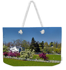 Kentucky Horse Farm Weekender Tote Bag