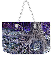 Kentucky Lake Roots Blue Weekender Tote Bag