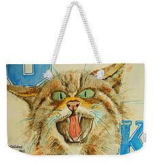 Kentucky Wildcats Weekender Tote Bag