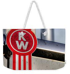 Kenworth Hood Logo 34709 Weekender Tote Bag
