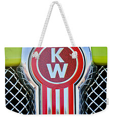 Kenworth Truck Emblem -1196c Weekender Tote Bag by Jill Reger