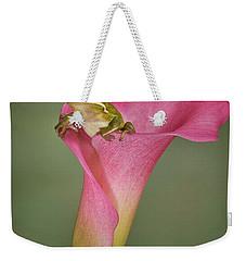 Kermit Peeking Out Weekender Tote Bag