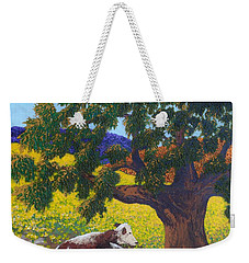 Kern County Cow Weekender Tote Bag