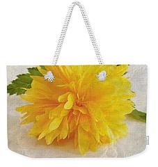 Kerria Japonica Weekender Tote Bag