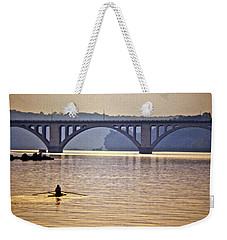 Key Bridge Rower Weekender Tote Bag