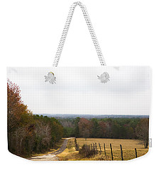 Weekender Tote Bag featuring the photograph Key Hill by Mez