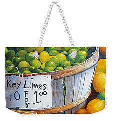 Key Limes Ten For A Dollar Weekender Tote Bag