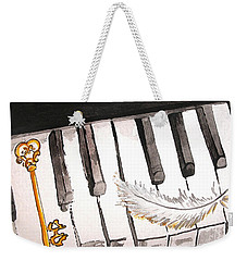Key To A New Sound Weekender Tote Bag
