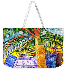 Key West Cat On A Hot Tin Roof Weekender Tote Bag