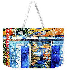 Key West Still Life Weekender Tote Bag