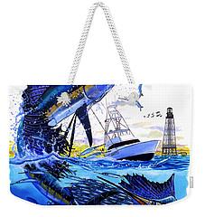 Keys Sail Weekender Tote Bag