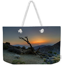 Keys View Sunset Weekender Tote Bag