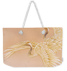 Kihaku Crop I Weekender Tote Bag by Haruyo Morita