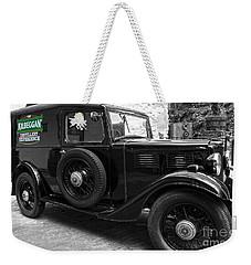 Kilbeggan Distillery's Old Car Weekender Tote Bag by RicardMN Photography