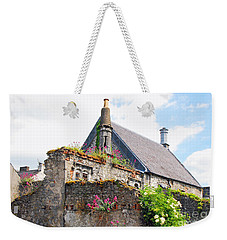 Weekender Tote Bag featuring the photograph Kilkenny House by Mary Carol Story