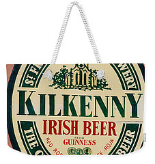Kilkenny Irish Beer Weekender Tote Bag