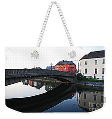 Weekender Tote Bag featuring the photograph Kilkenny by Mary Carol Story
