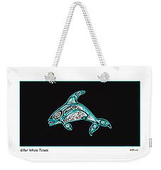 Killer Whale Totem Weekender Tote Bag